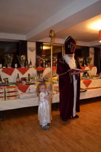 Nikolaus mit Engerl