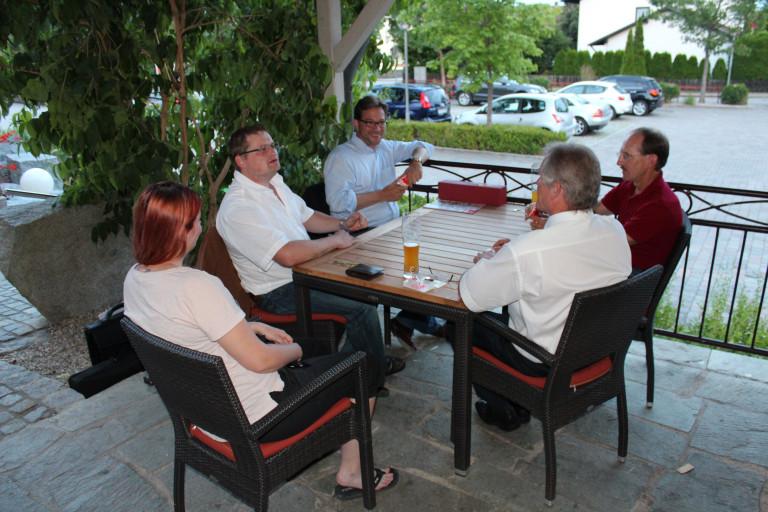 Jahreshauptversammlung 2015 Schafkopf