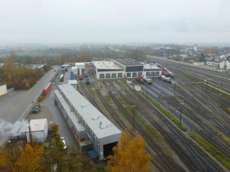 Betriebsbesichtigung bei der Südostbayernbahn in Mühldorf 01